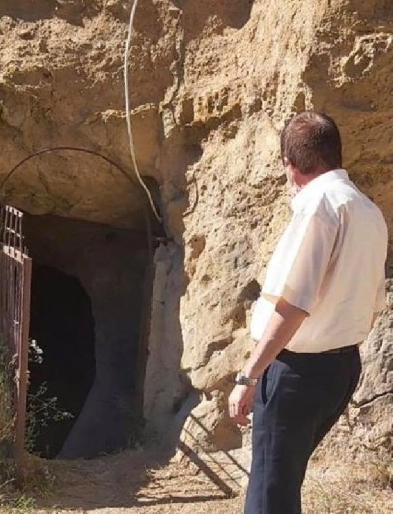 Kavlaktepe yeraltı şehri turizme kazandırılıyor