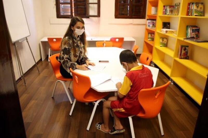 Akdeniz'de ilkokula başlayacak çocuklara okul olgunluğu testi