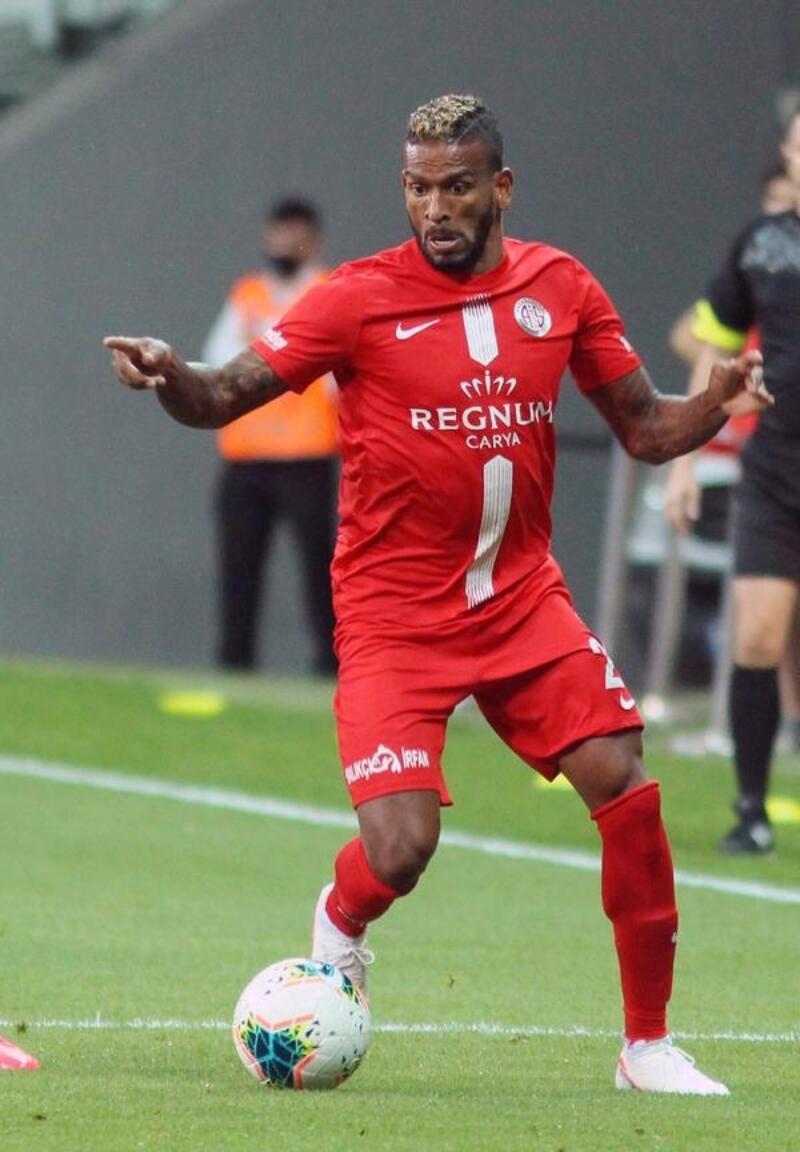 Antalyaspor'da en fazla Amilton oynadı