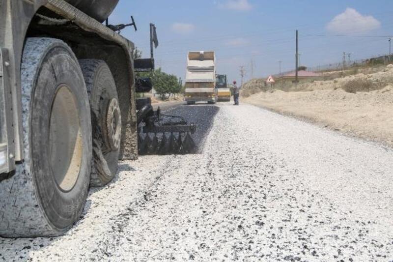Adana'da asfalt çalışması