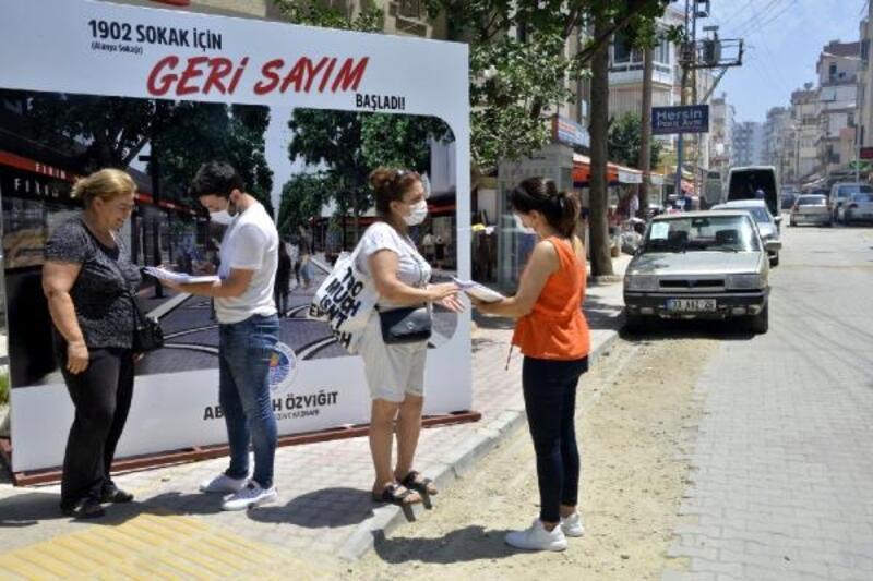 Alanya Sokağı'nı geleceğini vatandaş belirliyor