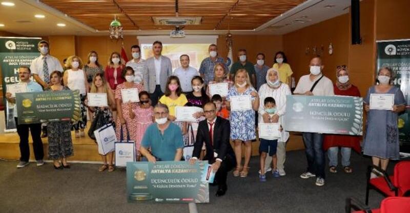 'Atıklar Dönüşüyor' yarışmasında ödüller verildi