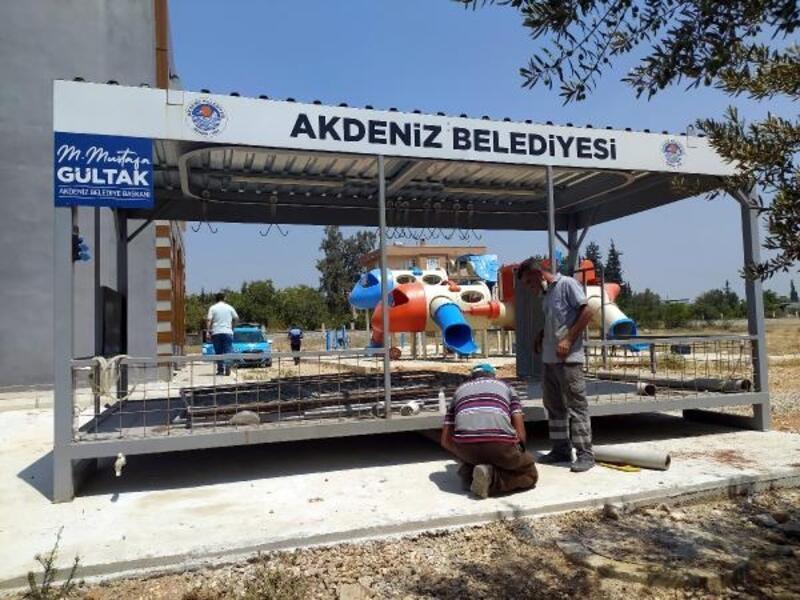Akdeniz Belediyesi bayrama hazır