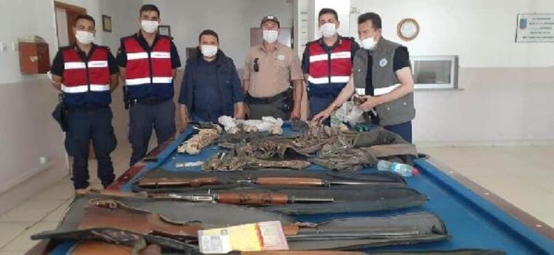 Niğde'de kaçak avlanan 4 kişiye 29 bin 363 TL ceza