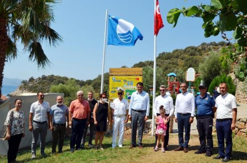 İnce Boğaz Halk Plajı'na mavi bayrak