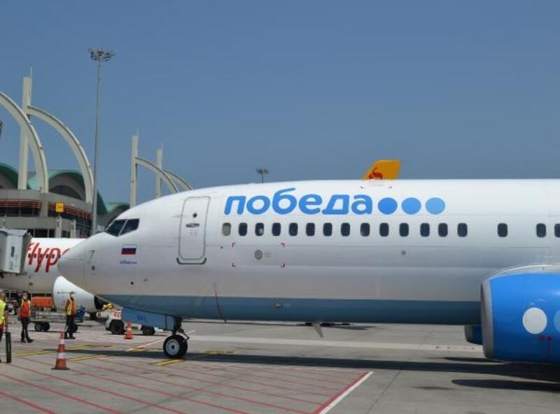 Sabiha Gökçen'den de Rusya uçuşları yeniden başladı