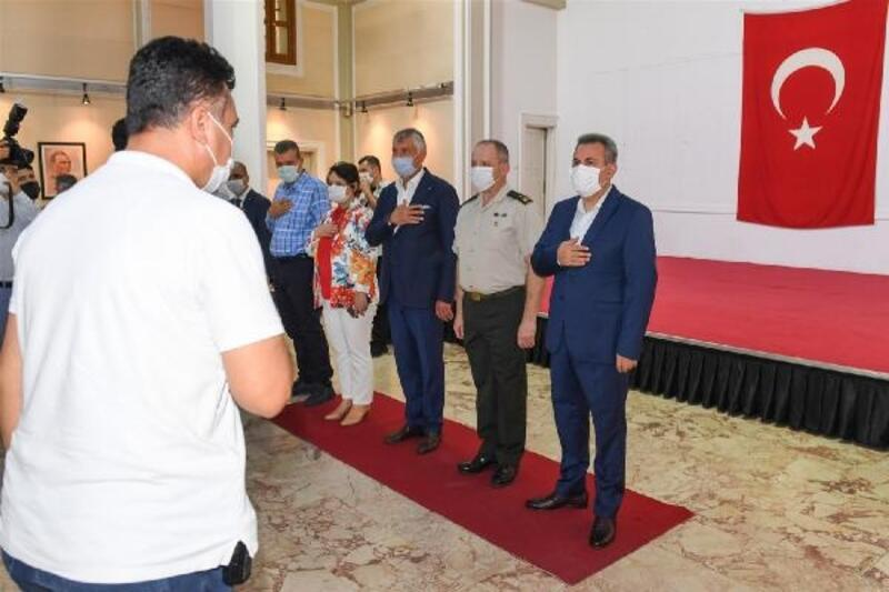 Vali Elban, resmi bayramlaşma törenine ev sahipliği yaptı