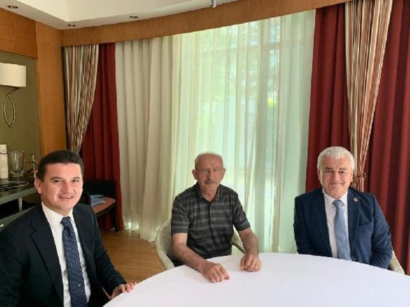 Başkanlar, Kılıçdaroğlu'yla bayramlaştı