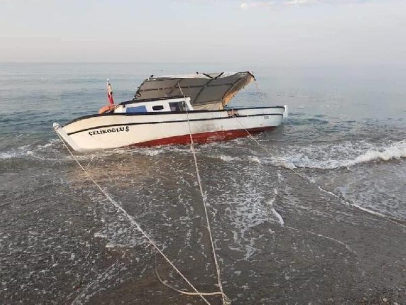 Balıkçıyı arkadaşları kurtardı