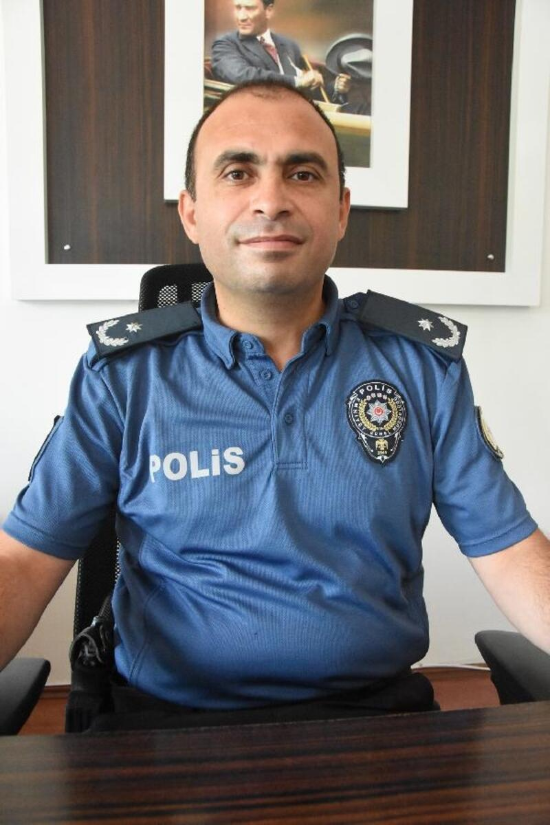 Polat yeni Demre Emniyet Müdürü