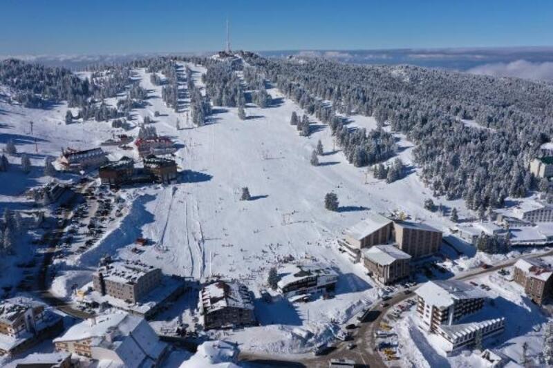 Uludağ'ın 4 mevsim turizme katkı sağlaması için çalışmalar hız kazandı