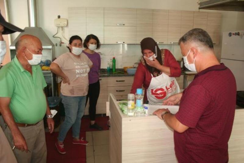 Erdemli'de koronavirüs denetimi yapıldı