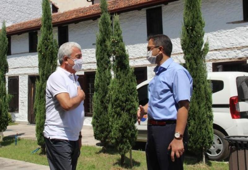 Kaymakam Sağ'dan Başkan Geyikçi'ye ziyaret