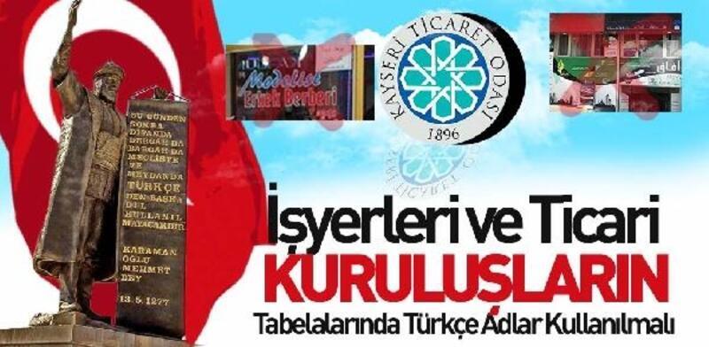 KTO Başkanı Gülsoy: İşyerlerinde Türkçe adlar kullanılmalı