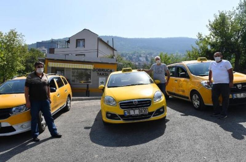 Doburca Taksi Durağı yenilendi
