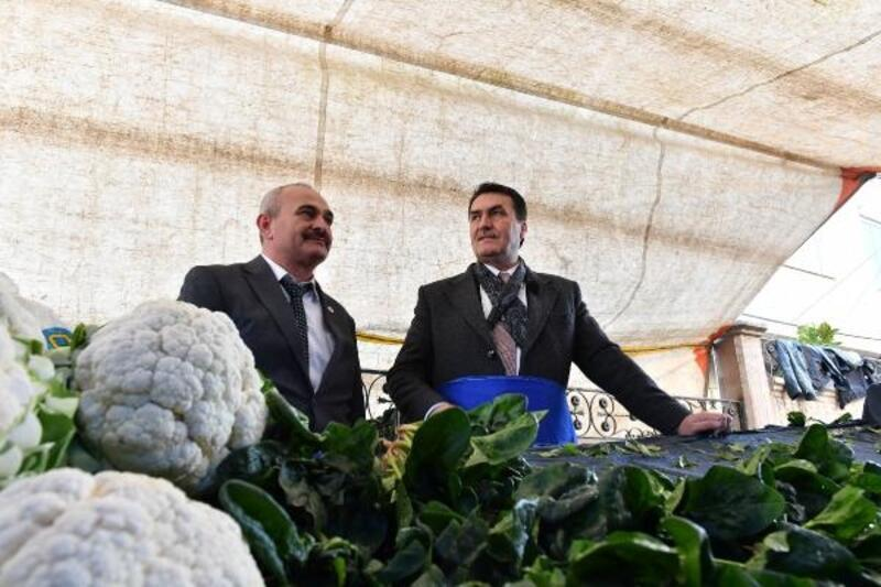 Bursalı çiftçi ürününü Çiftçi Pazarı'nda satacak