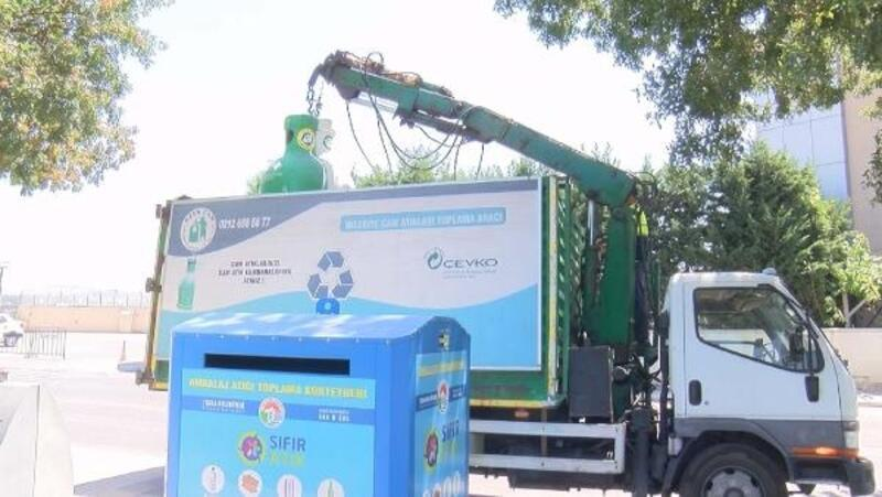Tuzla'da atıklar geri dönüşümle ekonomiye kazandırılıyor;yılda 11 bin ton ambalaj atık toplanıyor