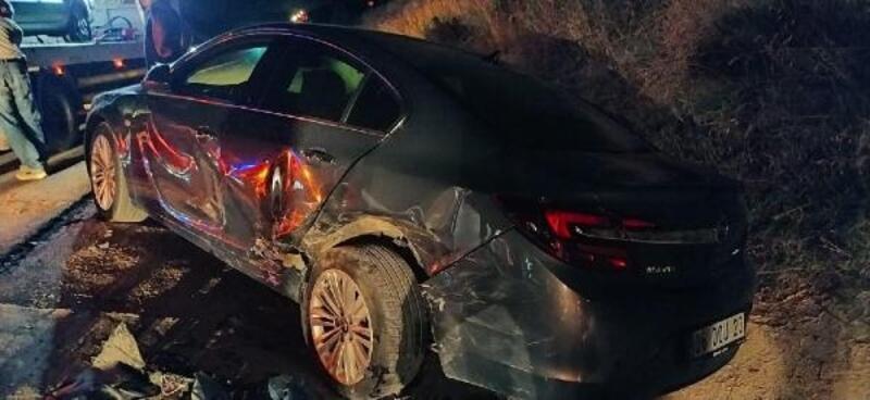 Keşan'da zincirleme trafik kazası: 2 yaralı