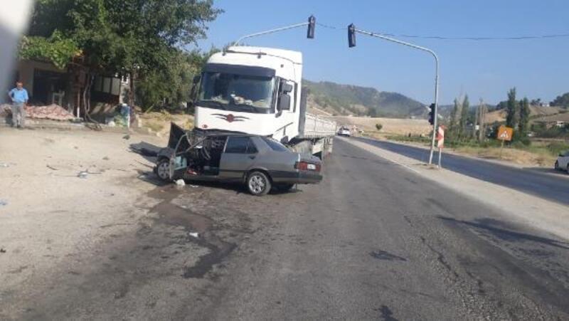 Kahramanmaraş'ta kaza: 2 yaralı