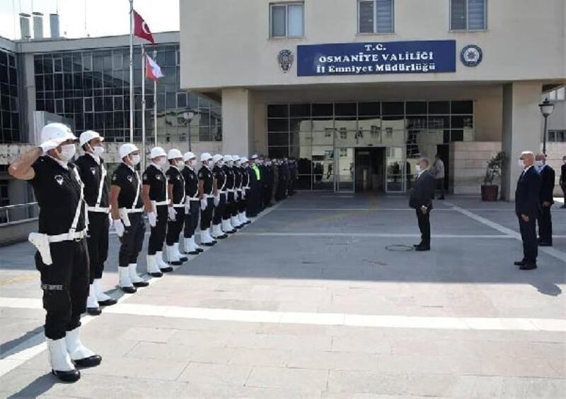 Emniyet Genel Müdürü Aktaş'tan Osmaniye ziyareti