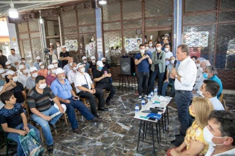 Başkan Seçer,vatandaşlarla bir araya geldi