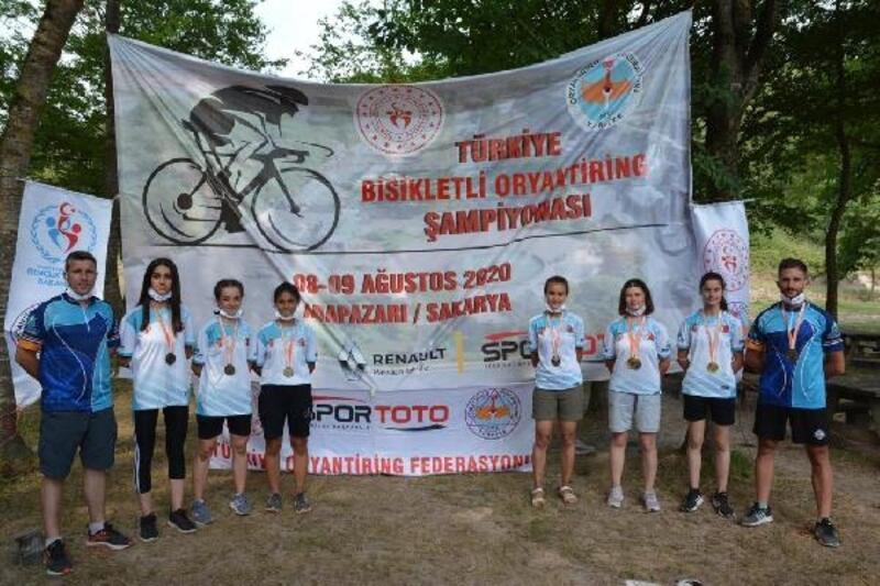 İnegöl Belediyesi DOSTUM oryantiring takımı, 10 madalya kazandı