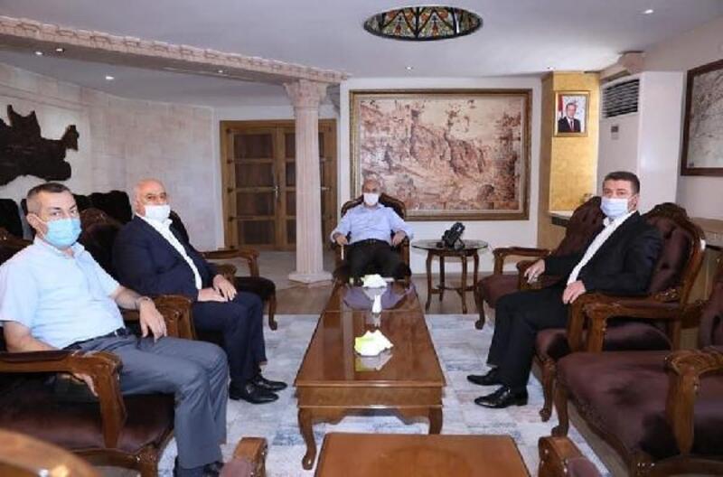 Midyat Kent Konseyi'nden Vali Demirtaş'a ziyaret
