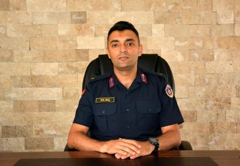 Korkuteli İlçe Jandarma'ya Kılınç atandı
