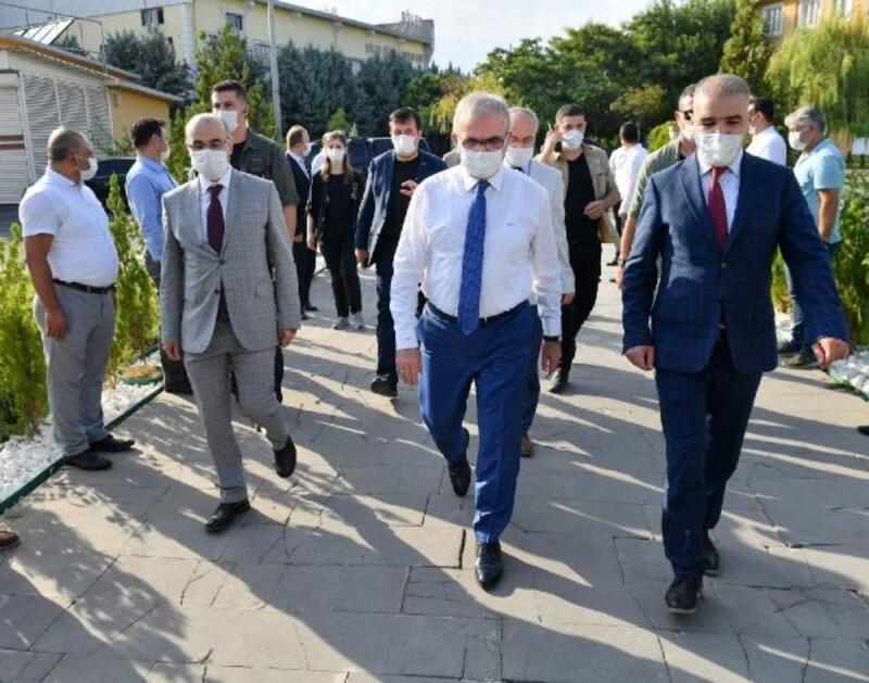 Vali Karaloğlu'dan DİSKİ'ye ziyaret