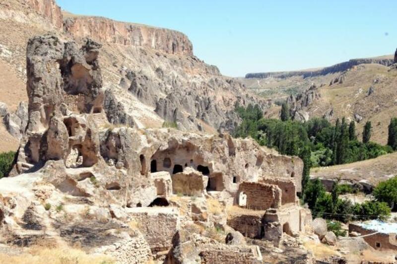 Kayseri'de Soğanlı Örenyerinde 'koronavirüs' sessizliği
