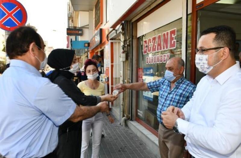 Mustafakemalpaşa'da koronavirüs denetimleri devam ediyor