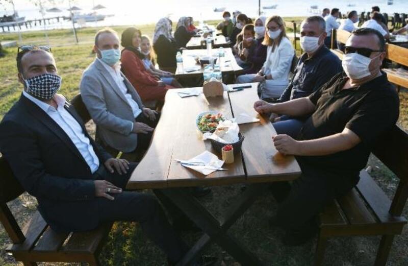 AK Partili Turan, STK temsilcileriyle bir araya geldi