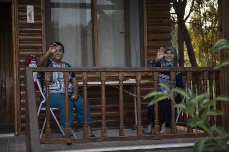 Gençlik kampı, dünün gençlerini ağırladı