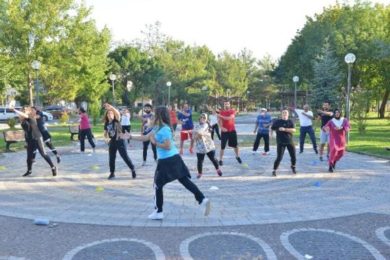Yıldırım'da sabah sporu etkinlikleri