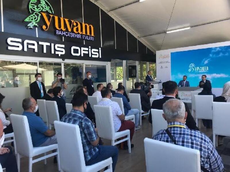 Başakşehir'de vatandaşlara sosyal konut projesi