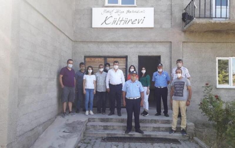 450 kilometre uzaktaki Bahadın'a Mezitli'den teknik destek