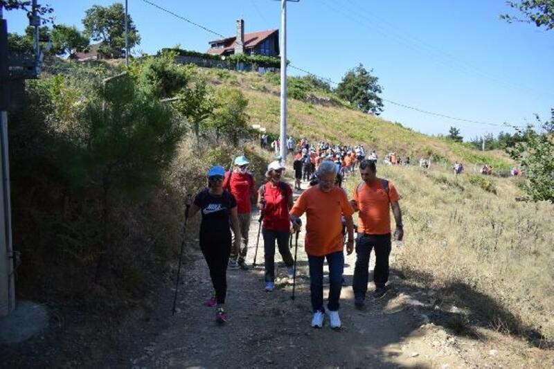 Mysia Yolları'nda doğayla baş başa yürüyüş