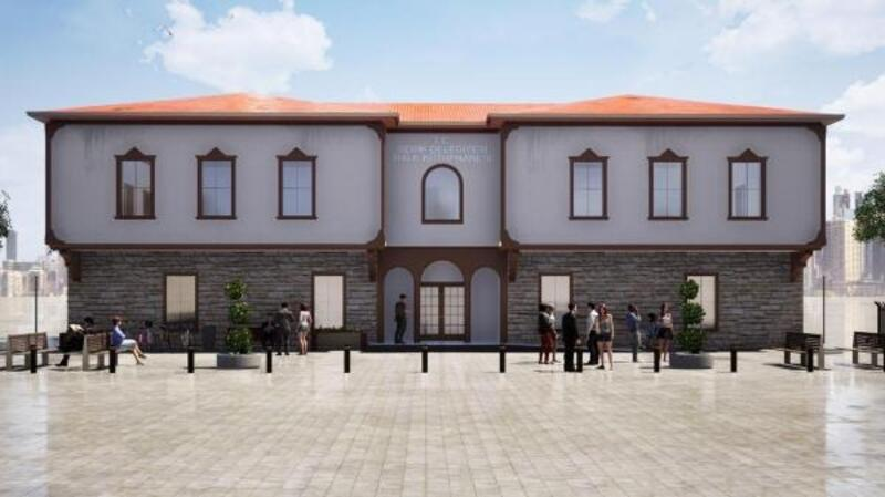 Serik'e yeni kütüphane binası