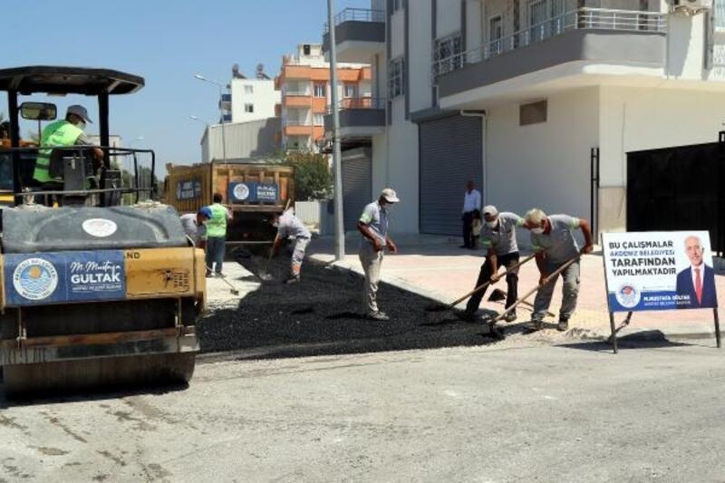 Akdeniz'de Fen İşleri ekipleri çalışıyor