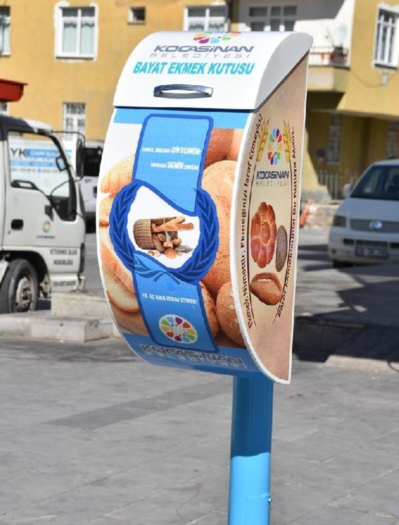 Kocasinan'da bayat ekmekler israf olmuyor