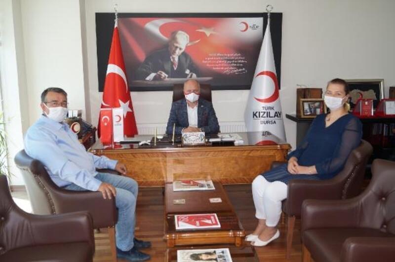 BUTTİM, Türk Kızılay Bursa Şubesi'ni ziyaret etti