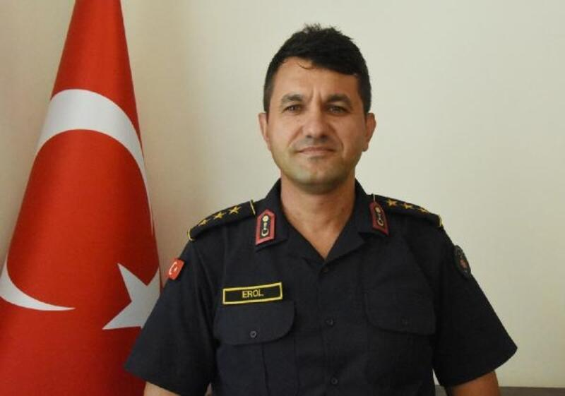 Yüzbaşı Erol göreve başladı