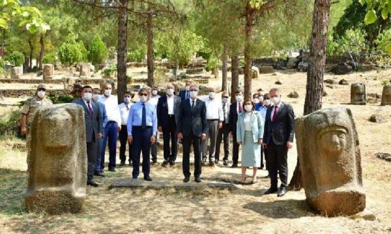 Bakan Yardımcısı Demircan'dan Yesemek ziyareti