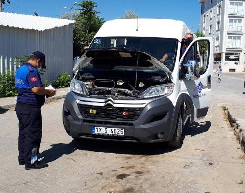 Gelibolu'da okul servis araçları denetlendi