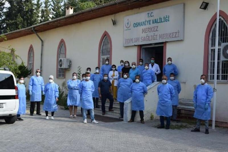 Osmaniye'de 28 filyasyon ekibi 24 saat sahada
