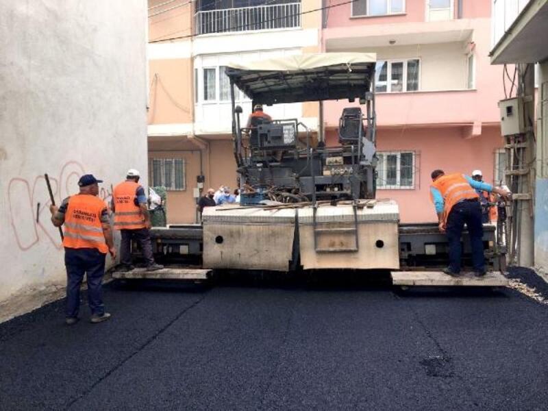 Osmangazi'de yoğun asfalt mesaisi