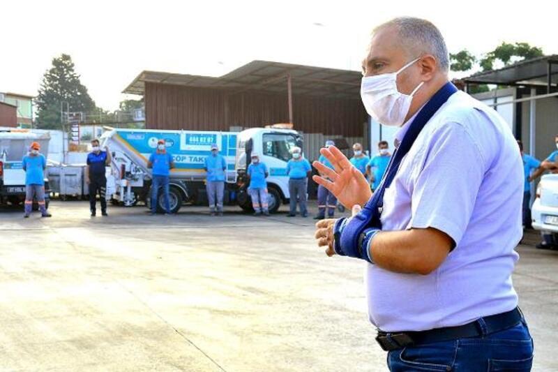 Alanya Belediyesi'nde koronavirüs önlemleri genişletildi