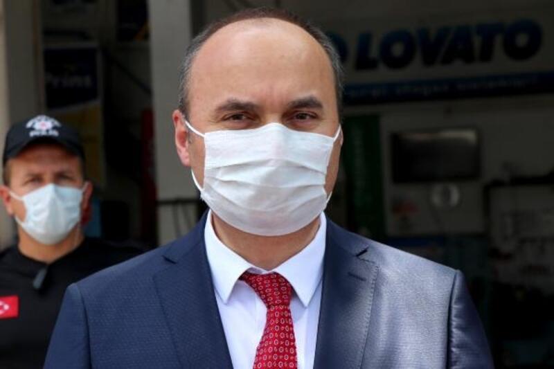 Edirne Valisi Canalp'ten esnafa SMS'li 'pandemi' mesajı