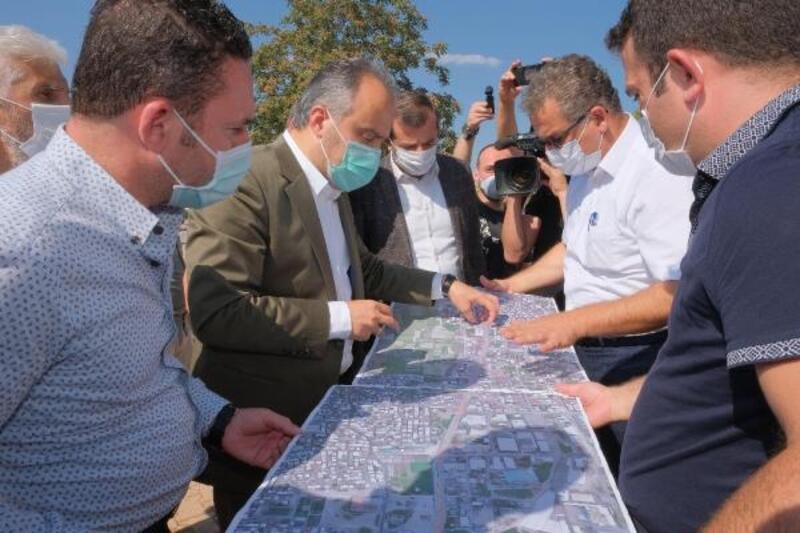 Gürsu'da ulaşıma Bursa Büyükşehir Belediyesi desteği