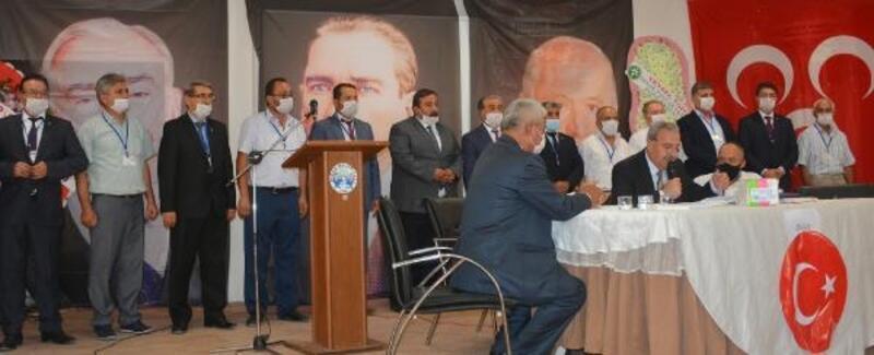 MHP Dinar'da Karahan yeniden seçildi